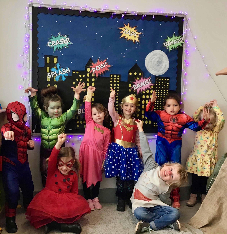 Parklands ET primary Comic Relief 2021 Superheroes class pic 4